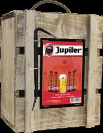 Jupiler Bierbox met breekijzer en glas Giftpack