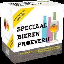 Speciaal Bieren Proeverij Giftpack 9x33cl + Glas en Biergids