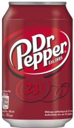 Dr Pepper blik tray 24x33cl