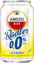 Amstel radler blik alcoholvrij.