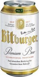 Bitburger Premium Pils Blik  tray 24x33cl
