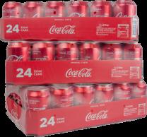 Coca Cola blik aktie 3 x 24 x 33cl