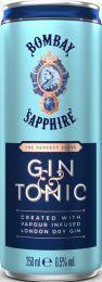 Bombay Gin Tonic premix blikjes