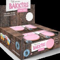 Bakkers Roze Glacé Cake 12 stuks
