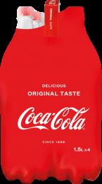 Coca Cola voordeelpakken 4x1,5L