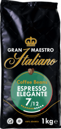 Echte Italiaanse Espresso Zak 1 kilo Koffiebonen