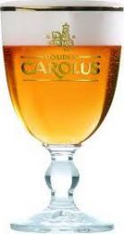 Gouden carolus bierglas bokaal 330ml