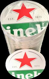 Heineken Vilt rol 100 stuks