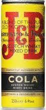 J&B Whisky cola blik 250ml