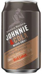 Johnnie Walker & Cola mixdrank blik tray 12x33 cl 5%