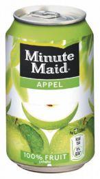 Minute Maid Appelsap 33cl blikjes