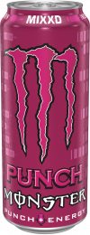 Monster Energy MIXXD fruit punch blik 500ml