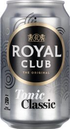 Royal Club Tonic NL Blik tray 24x330 ml