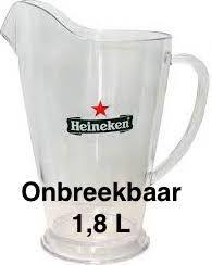 Heineken Bier Pitcher 1,8 L