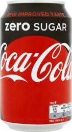 Coca Cola Zero Nederlandse Blik 33cl
