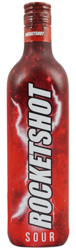 Rocketshot Sour Shot likeur fles 70cl rocketshot goedkoop laagste prijs