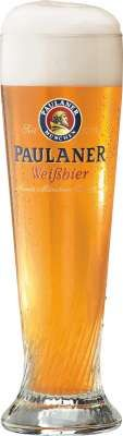 Paulaner weissbier bierglas 50cl
