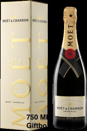 Moet & Chandon Brut Champagne Giftbox 75cl