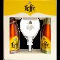 Leffe Bier Giftpack 4x33cl + Leffe Glas